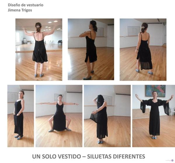 Un solo Vestido, diferentes siluetas