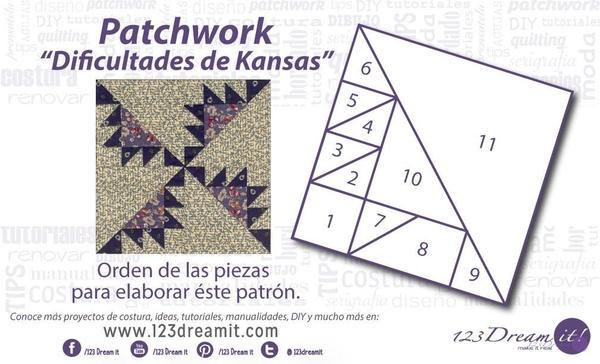 "Patchwork ""Dificultades de Kansas"""