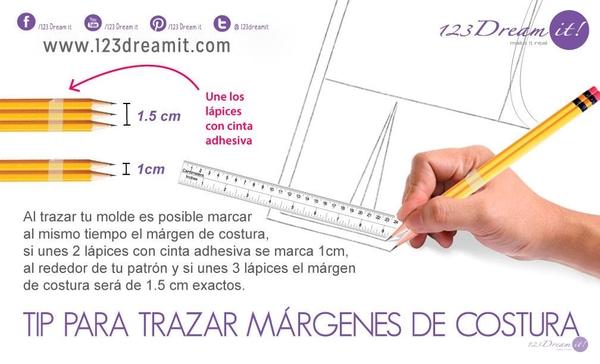 Tip para marcar márgenes de costura