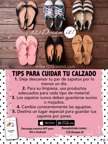 Tips para cuidar tu calzado