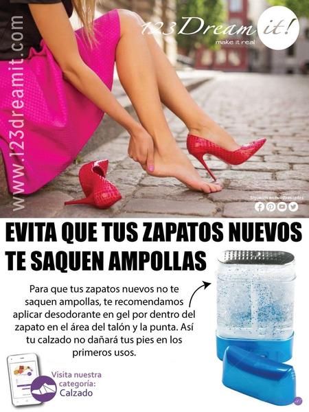 Evita que tus zapatos nuevos te saquen ampollas.