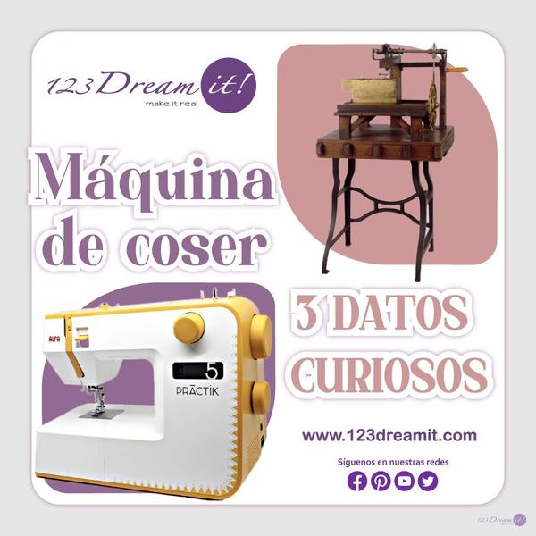Máquina de coser 3 datos curiosos