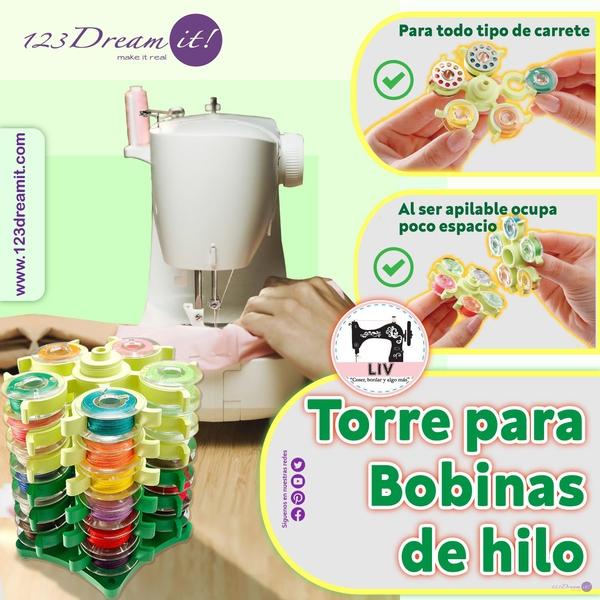 Torre Para Bobinas De Hilo