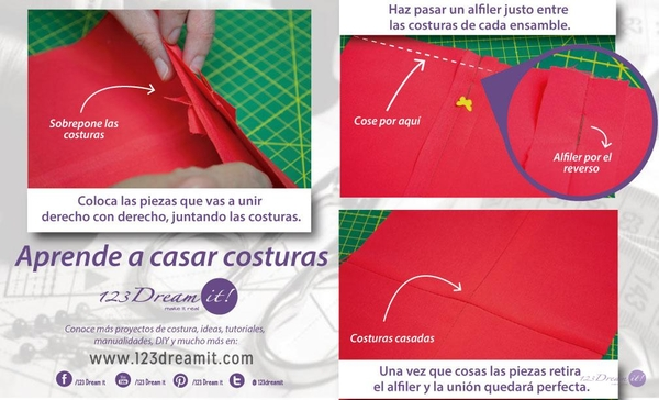 Aprende a casar costuras
