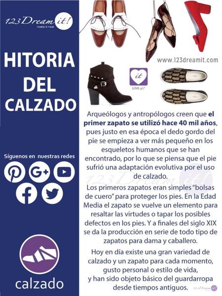 Historia del calzado