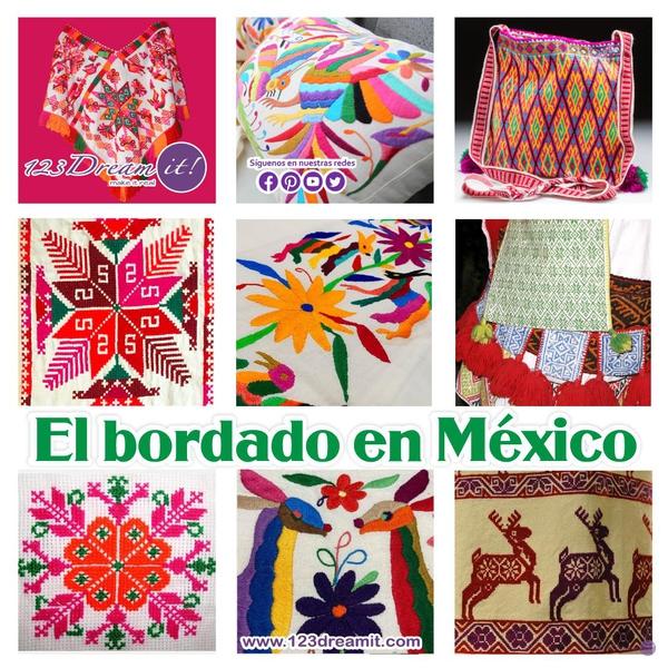 El bordado en México