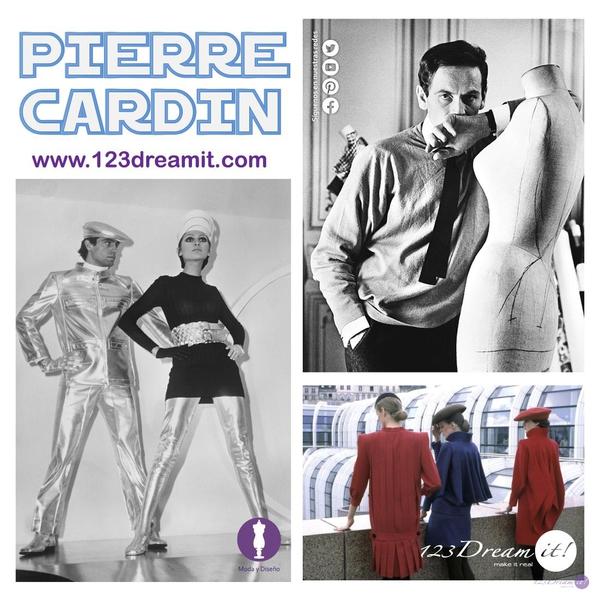 Moda futurista de Pierre Cardin