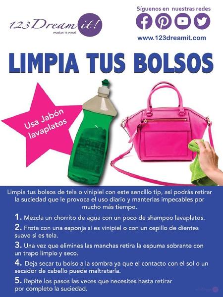 Limpia tus bolsos