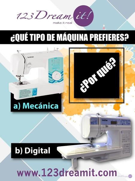 ¿Qué tipo de máquina prefieres?