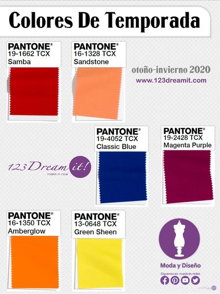 Colores de temporada