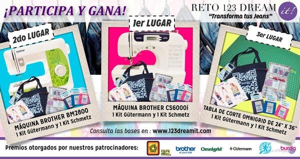 "Premios ""Reto Transforma tus Jeans"""