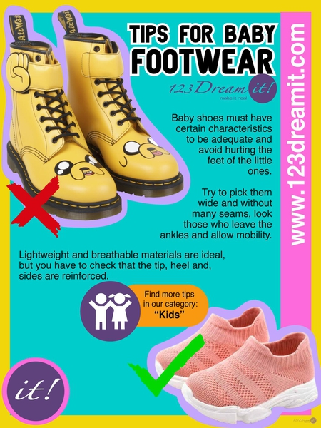 TIPS FOR BABY FOOTWEAR