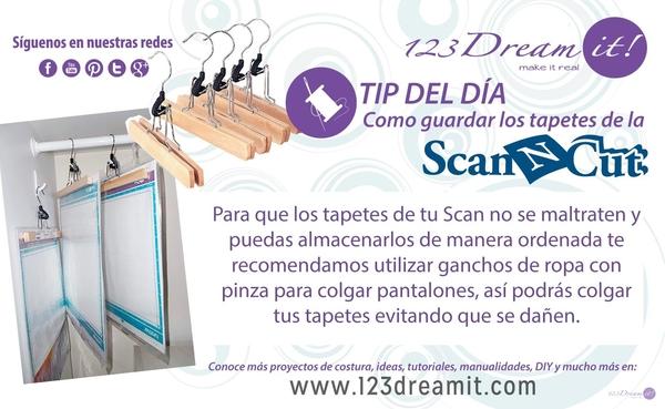 Organiza los tapetes de tu Scan N Cut
