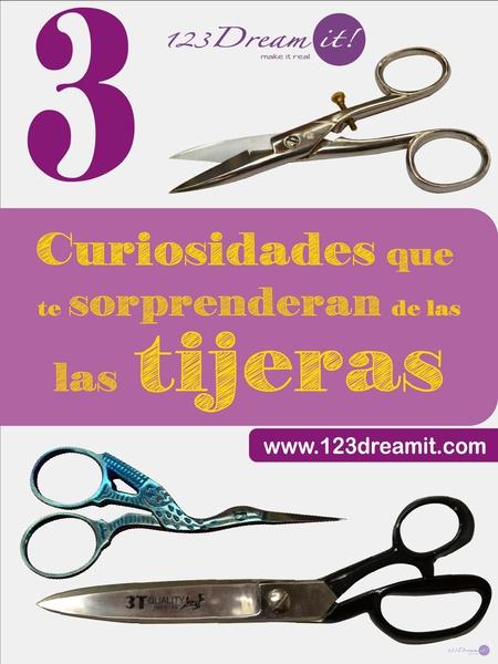 3 curiosidades que sorprenderán de las tijeras