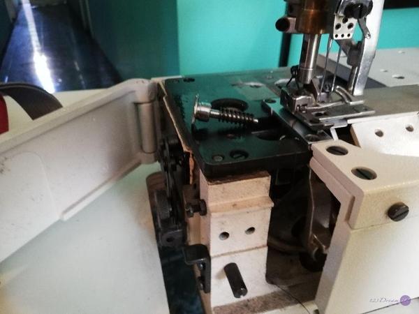 Reparación maquina colleretera