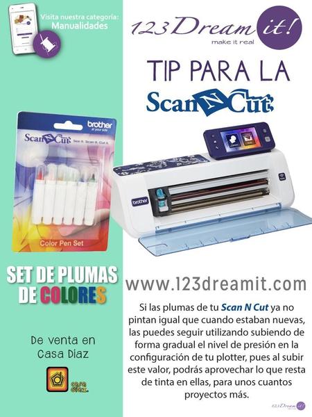 Tip para la Scan N Cut