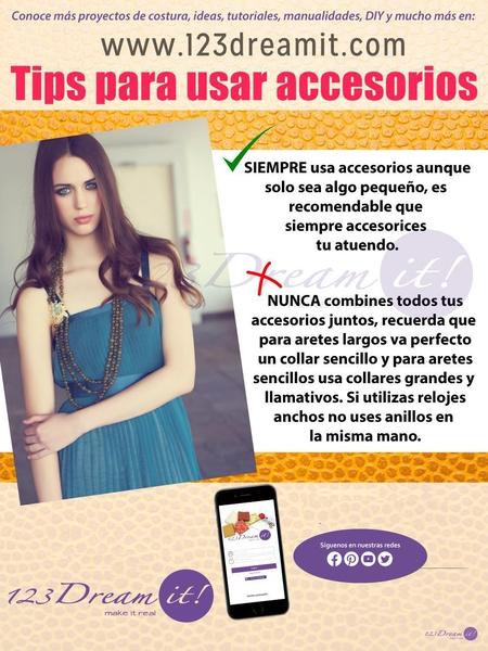 Tips para usar accesorios