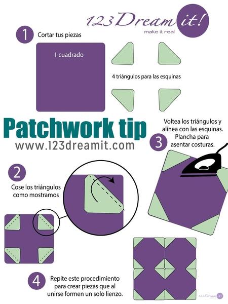 Patchwork tip