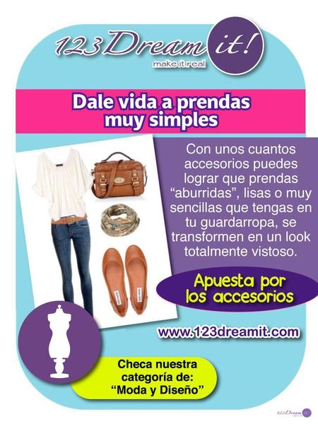 Dale vida a tus prendas muy simples