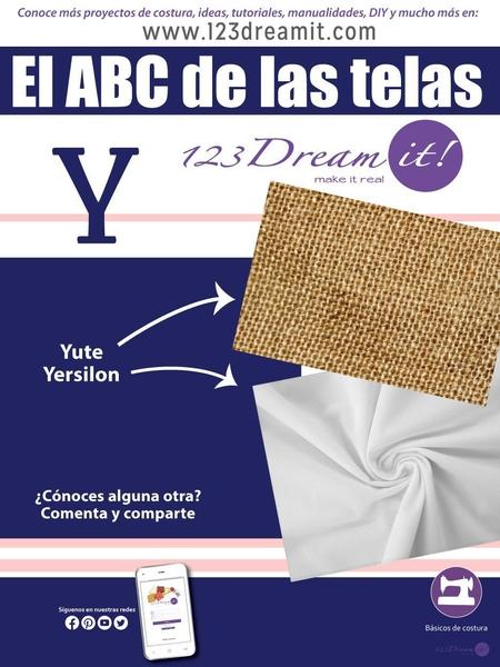 """El ABC de la telas letra """"Y"""""""