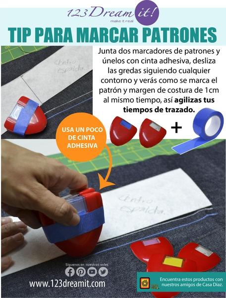 Tip para marcar patrones