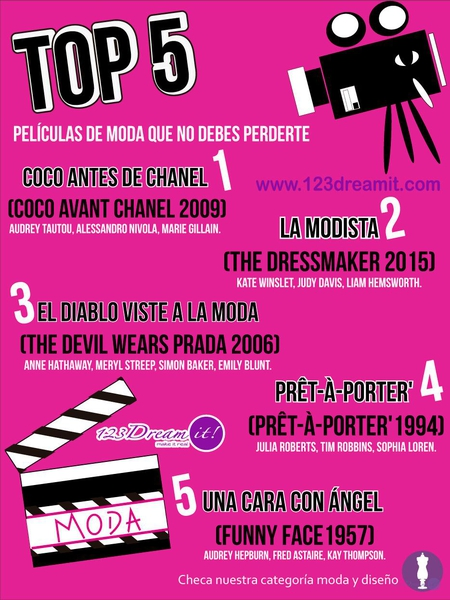 Top 5 de películas