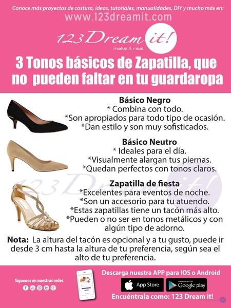 3 Tonos básicos para tus zapatillas