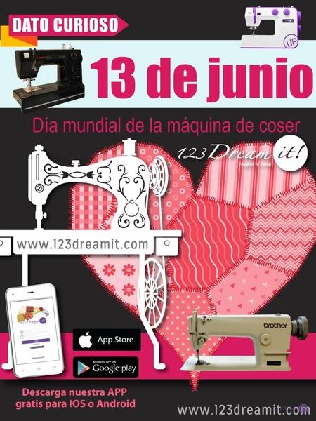 Día mundial de la máquina de coser