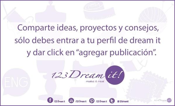 ¡Comparte tus propios consejos y proyectos!