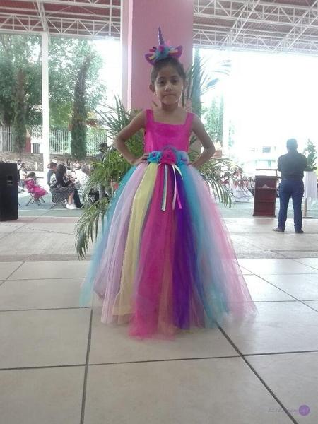 vestido unicornio 🦄