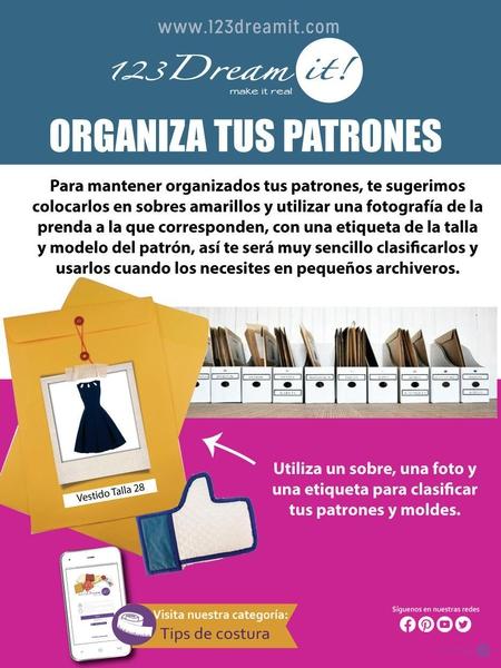 Organiza tus patrones