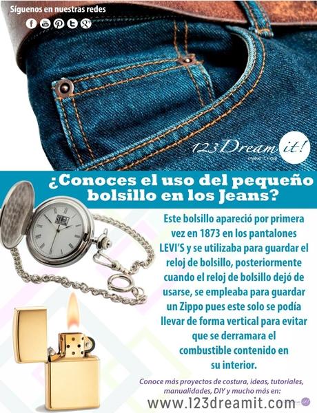 ¿Conoces para qué sirve el pequeño bolsillo en tus Jeans?