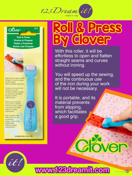 ROLL & PRESS BY CLOVER