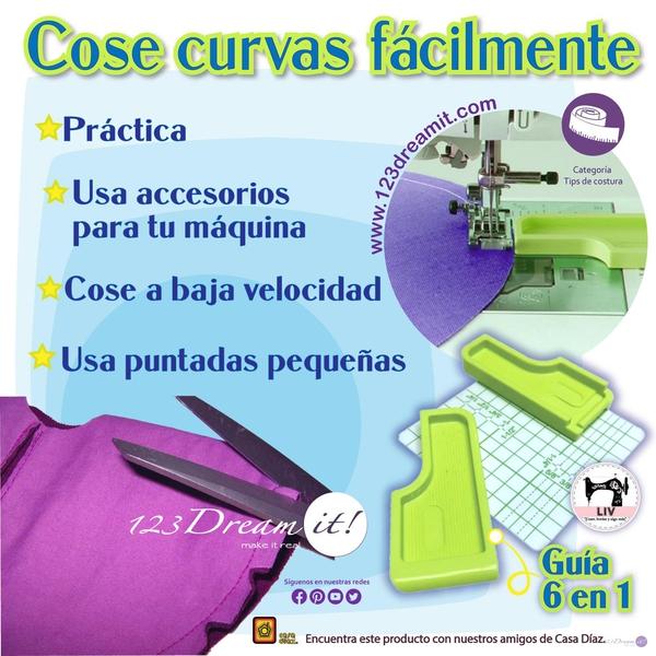 Consejos para coser curvas fácilmente