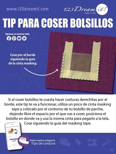 Tip para coser bolsillos