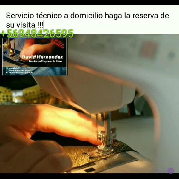 técnico de maquinas de coser