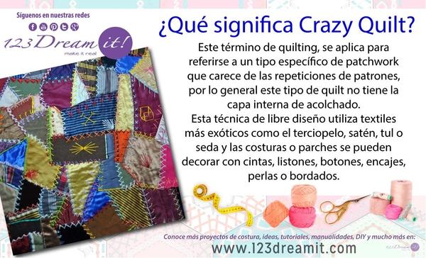 Que significa Crazy Quilt