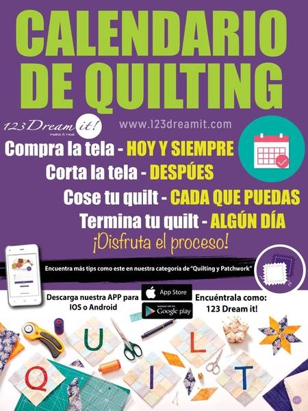 Calendario de quilting