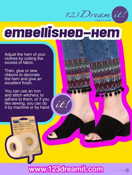 EMBELLISHED-HEM