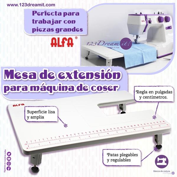 Mesa de extensión para máquina de coser Alfa