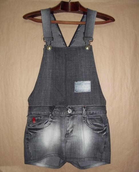 Convierte tus jeans en un overall