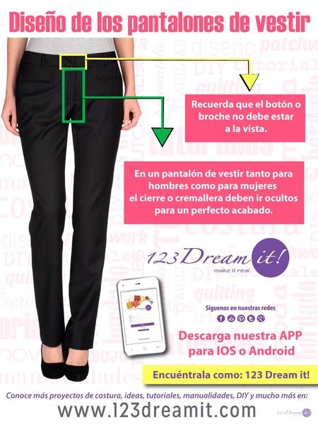 Conoce como debe ser el diseño de tus pantalones de vestir