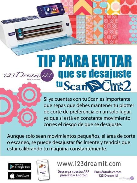 Tip para evitar que se desajuste tu Scan N Cut
