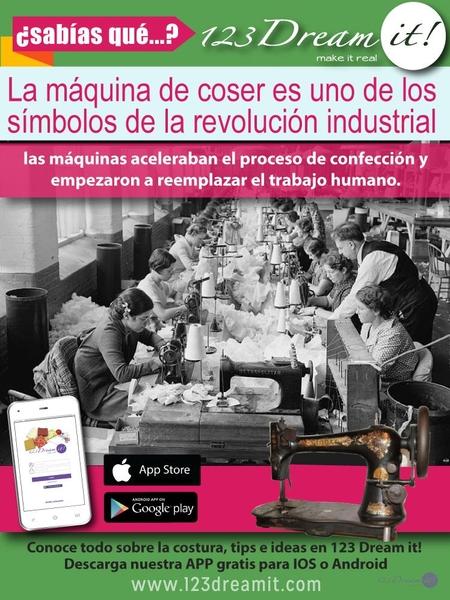 La máquina de coser en la Revolución Industrial