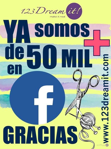 Ya somos más de 50 Mil en Facebook