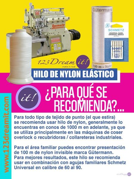HILO DE NYLON ELÁSTICO
