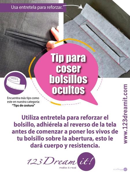 Tip para coser bolsillos invisibles