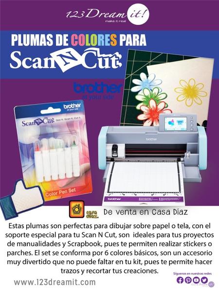 Plumas de colores para tu Scan N Cut