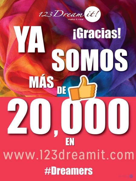 Gracias a ustedes cada vez somos más #Dreamers