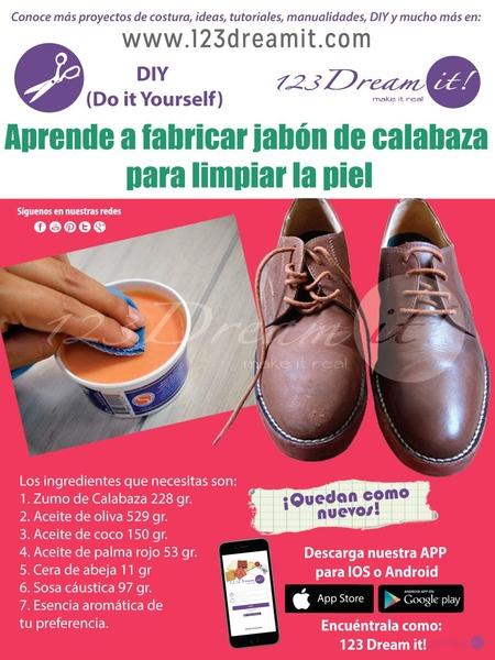Aprende a fabricar jabón de calabaza para limpiar piel